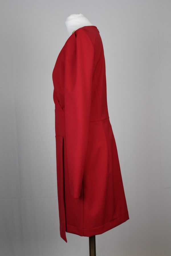 Patrizia-Pepe-Kleid-Rot-s